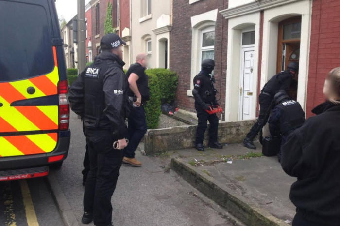 Human Trafficking Raids, Blackpool, Preston